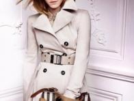 2013 Moda Beyaz Bayan Kaban�