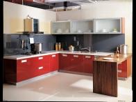 2013 Kırmızı Mutfak Mobilyaları