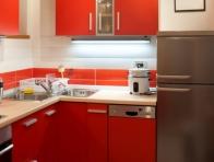 2013 K�rm�z� Renk Mutfak Dolaplar�