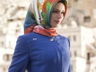 2013 Renkli Eşarp Modelleri