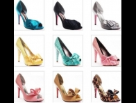 Renk Renk Abiye Ayakkab� Resimleri