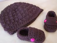 Bebekler için Kışlık Bere ve Patik