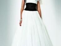 Beyaz Balo Kıyafeti