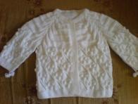 Beyaz Bebek Hırkaları