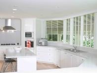 Beyaz Modern Mutfak D��eme