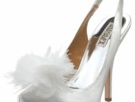 Bilekten Bağlamalı Gelinlik Ayakkabısı