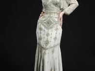 Bolerolu Desenli Elbise Modelleri
