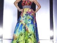 Canlı Renkli Elbiseler