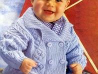 Erkek Bebek Hırka Örnekleri