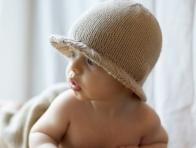 Fötr Bebek Şapkaları