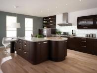 Kahverengi istikbal Regina Mutfak Dolaplar�