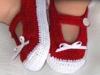 K�rm�z-Beyaz Bebek Pati�i Modeli