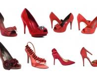 Kırmızı Ayakkabı Modelleri