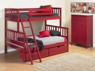 Kırmızı Ranzalı Yatak Modelleri