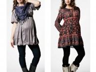 Kışlık Renkli Hamile Elbise Modelleri