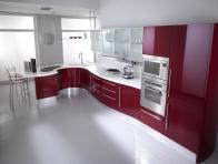 Koyu Renk Ankastre Mutfak Dolapları