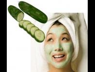 Kuru Cilt İçin Evde Salatalık Maskesi