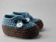 Mavi-Kahverengi Erkek Bebek Pati�i
