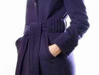 Mor Uzun Bayan Kaban Modeli