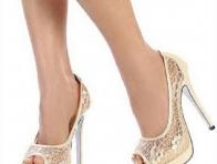 Renkli Gelin Ayakkabısı