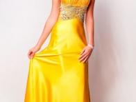 Sarı Boydan Abiye Modeli