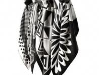 Siyah Beyaz Vakko E�arp Modelleri