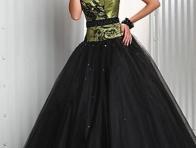 Siyah K�na K�yafeti Modelleri