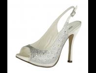 Ta�l� Beyaz Gelin Ayakkab�s�