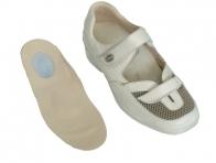 Topuk Dikeni İçin Beyaz Bayan Ayakkabı Modeli