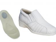 Topuk Dikeni Beyaz Erkek Ayakkab�s�