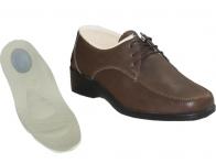 Topuk Dikeni İçin Kahverengi Erkek Ayakkabıları