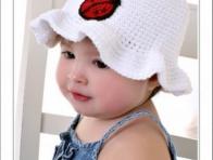 Uğur Böceği Desenli Bebek Şapka Örnekleri