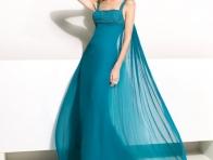 Mavi Uzun Abiye