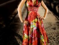 Yazlık Renkli Elbise