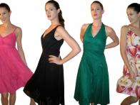 Yazl�k Renkli Elbise Modelleri
