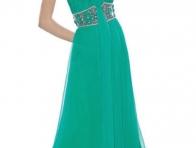Yeşil Nişan Elbisesi