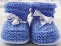 Örgü Bebek Patiği Nasıl Yapılır